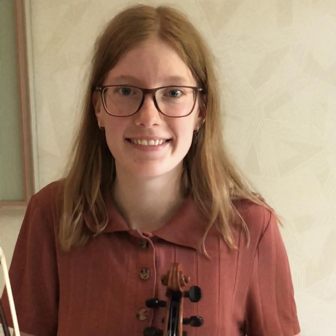 Renée vertelt waarom ze viool speelt